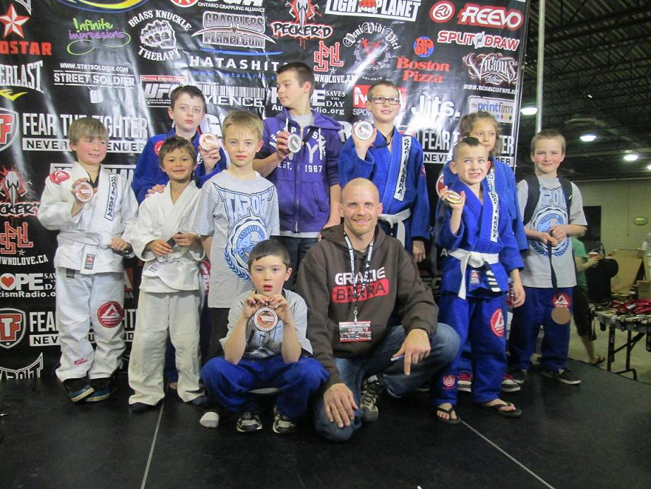 Kids Brazilian Jiu Jitsu Grapplers Quest North American Championships