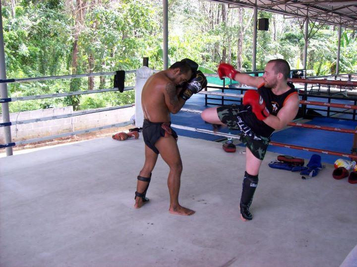 Mark Muay Thai Fighter Thailand Boxing Kickboxing Martial Arts Chatham muay thai classes gym training self defense workout
